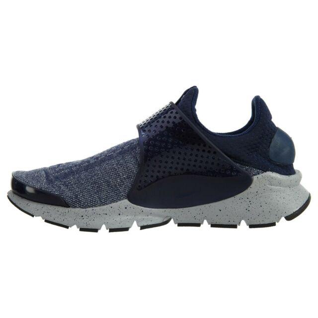 155fdd4ca1217 Nike Sock Dart SE Premium Midnight Navy Mens Running Shoes SNEAKERS  859553-400 10