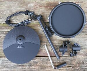 NEW-Alesis-Nitro-Mesh-Upgrade-10-034-Cymbal-8-034-Pad-w-Mounting-Hardware-amp-Cables
