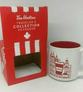 Tim-Hortons-Coffee-Mug-Canada-Quebec-City-Traveller-Collection-2019-2nd-Ed-Gift