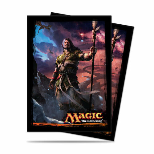 80 Ultra Pro Deck Protector Card Sleeves Dragons of Tarkir Sarkhan for MTG cards