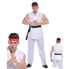 C465 Street Fighter Akuma Mens Adult Halloween Fancy Dress Costume