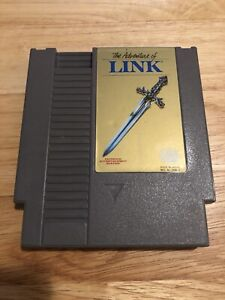 The-Adventure-Of-Link-Grey-Version-1985-NES-Game-Cleaned-And-Tested