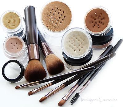 WARM Haut Bare Face Affection Minerals Reine Oberfläche Make-up 12p Set
