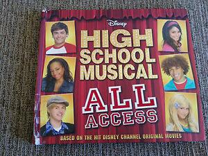 HIGH-SCHOOL-MUSICAL-ALL-ACCESS-WALT-DISNEY-LIBRO-GRAN-FORMATO-BOOK-ENGLISH
