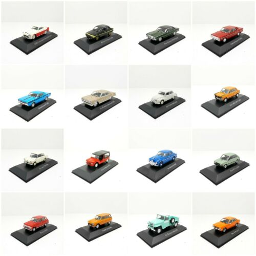 1/43 AUTOS INOLVIDABLES ARGENTINOS IKA PEUGEOT FORD CHEVROLET DODGE CHRYSLER IKA