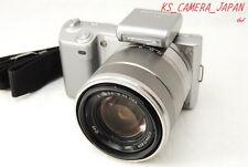 """EXC++++"" Sony Alpha NEX-5K 14.2 MP Digital Camera Silver w/ E OSS 18-55mm Lens"