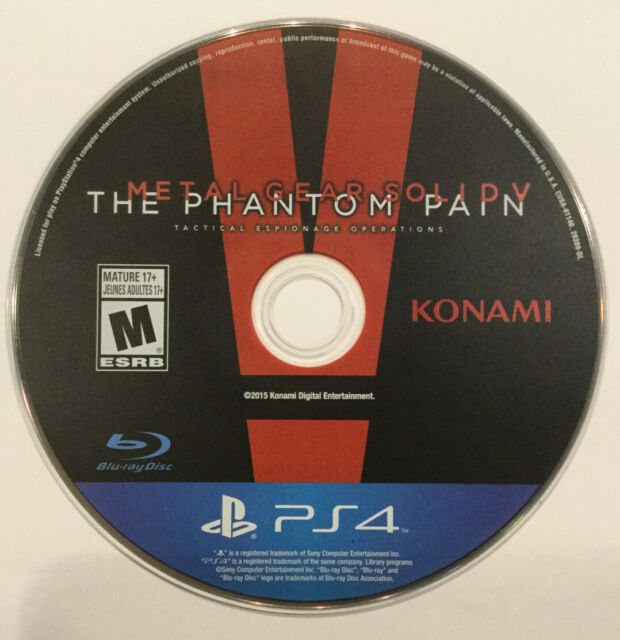 Metal Gear Solid V : The Phantom Pain (Sony PlayStation 4