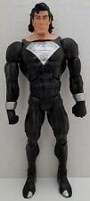 DC Universe Classics Wave 6 Black Suit Long Hair Superman DCUC 100% Complete