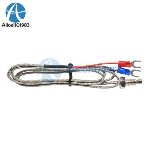 1M 3.3ft K Type Thermocouple Control Temperature Controller 0-800C Sensor Probe