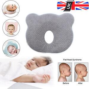 Newborn Baby Cot Pillow Prevent Flat