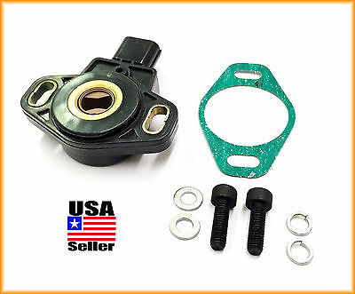 B 02-06 ACURA RSX TYPE S TPS THROTTLE POSITION SENSOR WITH GASKET AND BOLTS