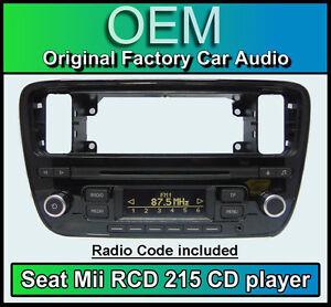 Seat Mii Car Stereo Seat Rcd 215 Cd Mp3 Player Headunit With Radio