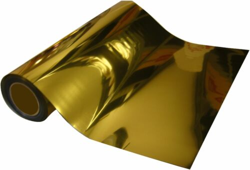 "6 GOLD Quality Heat Press TRANSFER Vinyl  20/"" x 12/"" SISER 6 METALLIC SILVER"