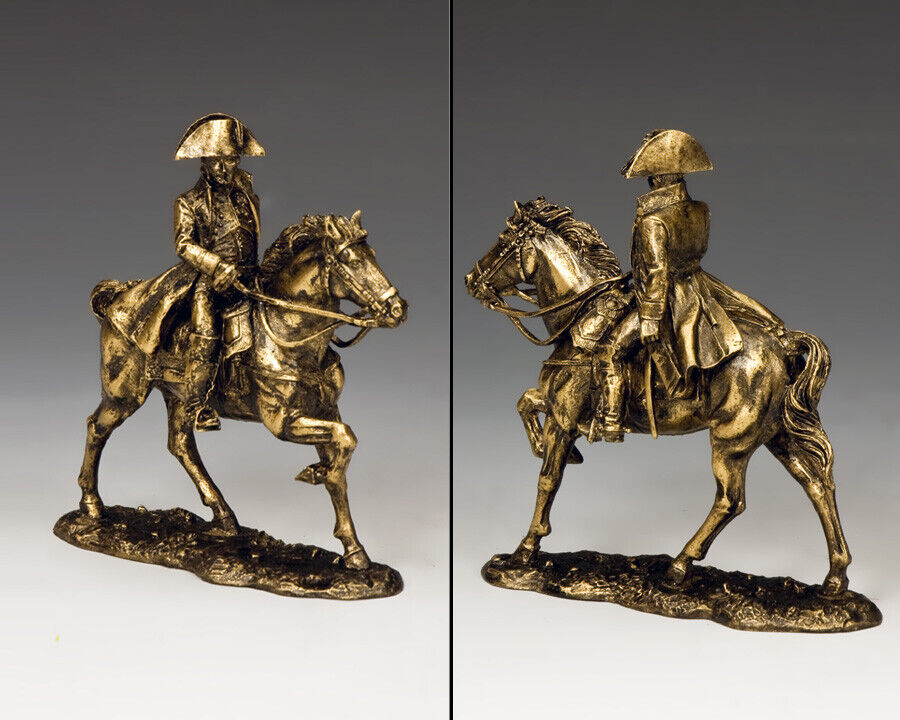 KING & COUNTRY DIORAMA SP089 NAPOLEON MOUNTED BRONZE MIB