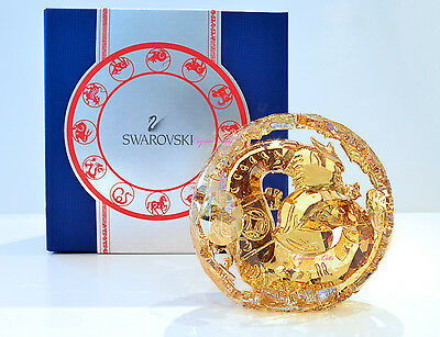 Swarovski Crystal Chinese Zodiac Golden Dragon Large 5063126 Brand New in Box