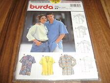 BURDA-PLUS Schnittmuster 3006               4x  HEMD       Da: 38-52  He.: 44-56