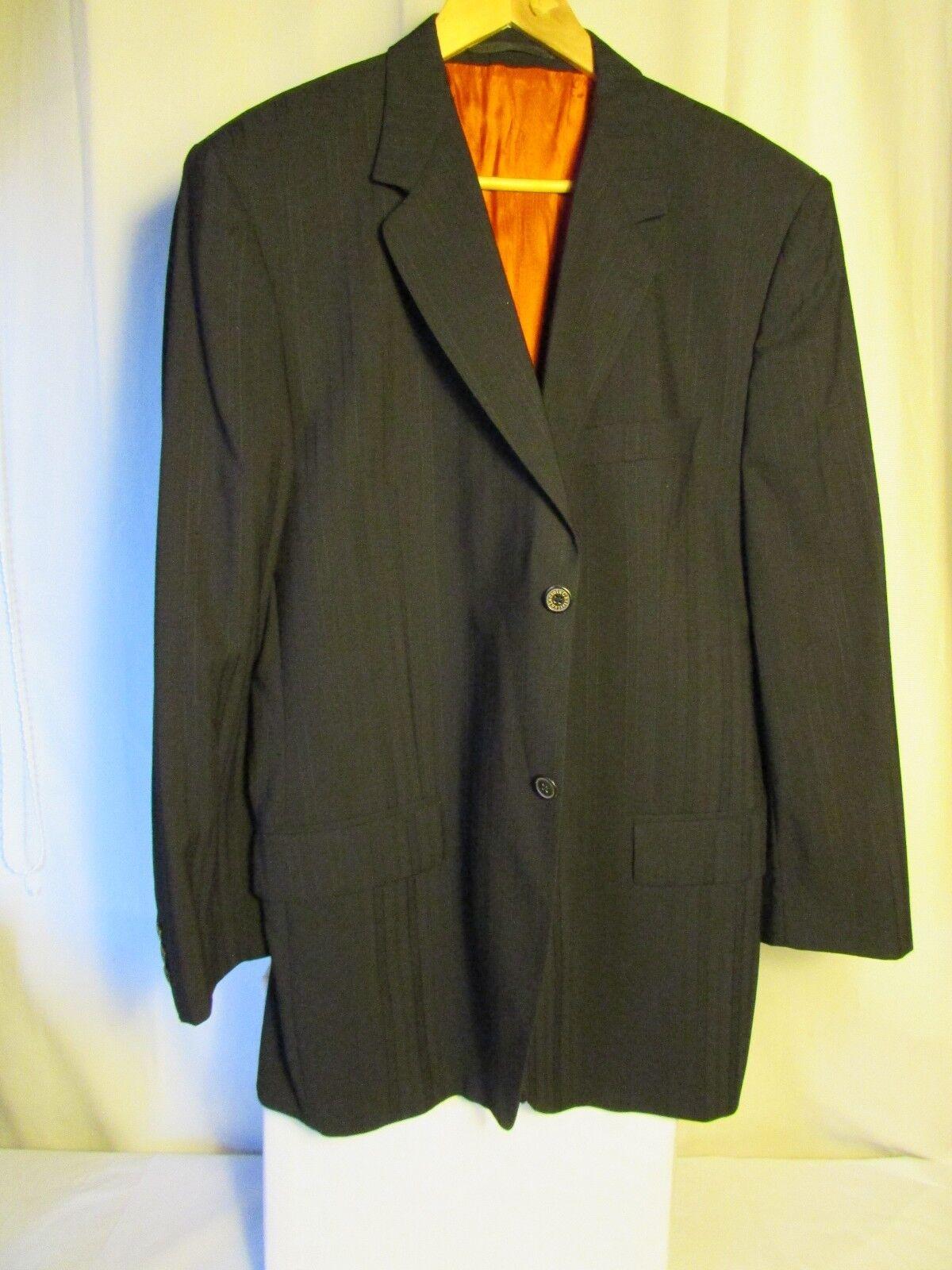 veste veste veste blazer Christian LACROIX laine noire taille 56 116578