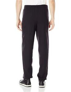 Hanes-Men-039-s-EcoSmart-Fleece-Sweatpant-Black-XL-Black-Size-X-Large-PWxl