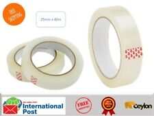 Clear Tape Parcel Packing Cellotape 25mm X40m Sellotape Packaging Carton Sealing