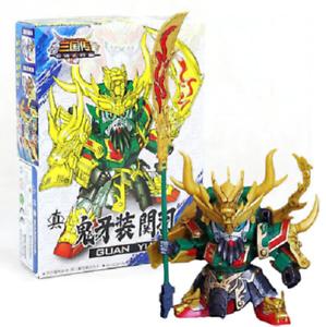 3-034-Guan-Yu-SD-BB-Gundam-DIY-Build-Yourself-Model-Kit-A006-Robot-Space-Mech-ROTK