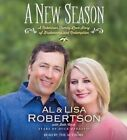 A New Season: A Robertson Family Love Story of Brokenness and Redemption by Al Robertson, Lisa Robertson (CD-Audio, 2015)
