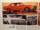 NOS Ford Sales Liturature 1967 Mustang Fairlane Falcon LTD T-bird Brochure New