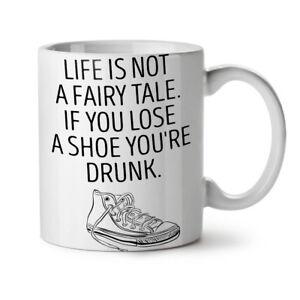 Life Drunk Saying Funny NEW White Tea Coffee Mug 11 oz | Wellcoda