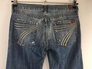 7 Womens Womens Wide Size Wash 27 Flare All Jeans Light Distressed Jeans Mankind For rxIwCBtqUr