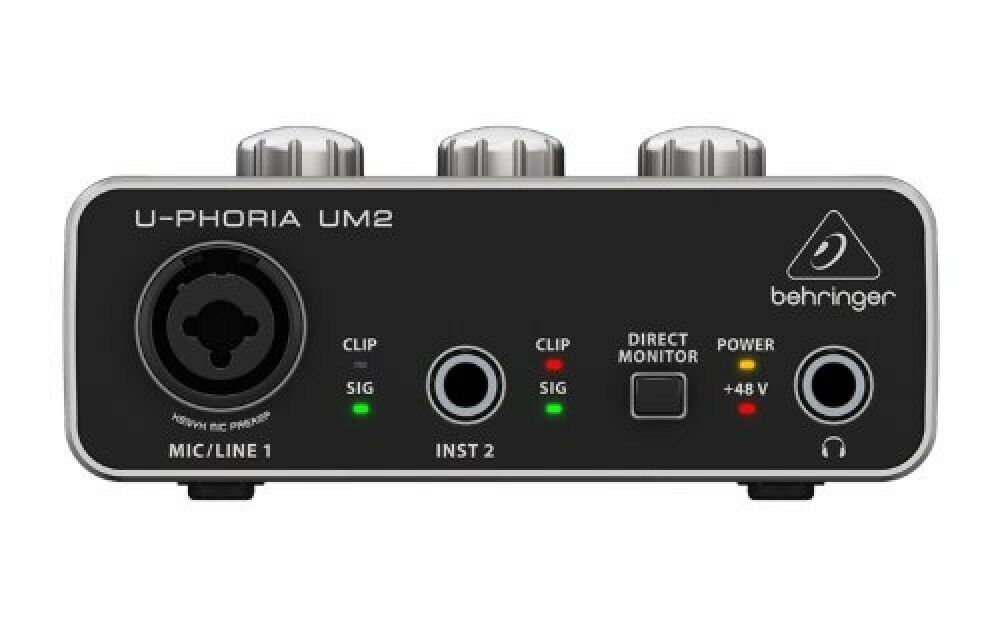 BEHRINGER BEHRINGER BEHRINGER U-PHORIA 1 canales UM2 a1188c