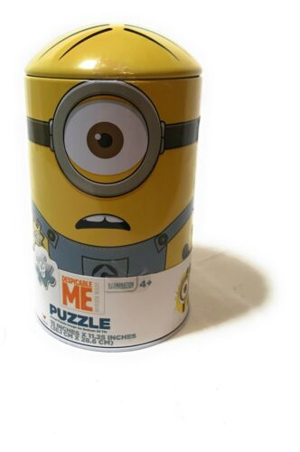 48 Piece Cardinal Industries NEW Minions Large Capsule Tin Jigsaw Puzzle