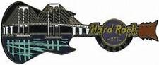Hard Rock Hotel MACAU 2009 BRIDGE Reflection GUITAR PIN - HRC Catalog #50141
