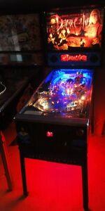 Bram Stokers Dracula, Johnny Mnemonic, No Fear Pinball CABINET light Mod