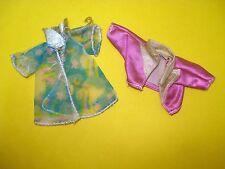 Vtg 80s Hasbro MOONDREAMERS Doll Clothes Lot JACKET & ROBE 1985
