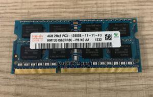 4GB DDR3 - 2RX8 - PC3-12800S -1600MHZ SODIMM Hynix Memory Dimm