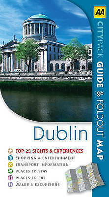 """""""AS NEW"""" Harbison, Peter, AA CityPack Dublin (AA CityPack Guides), Paperback Boo"""