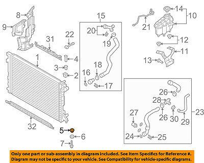 Radiator Lower Insulator 4M0121275A For Audi A4 Q5 Q7 S4 SQ5 17-18