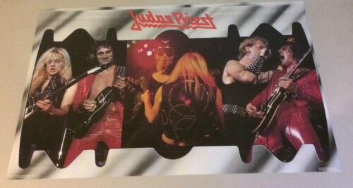 Judas Priest Original Vintage Poster Pin-Up Rock Music Memorabilia 1981 Joester