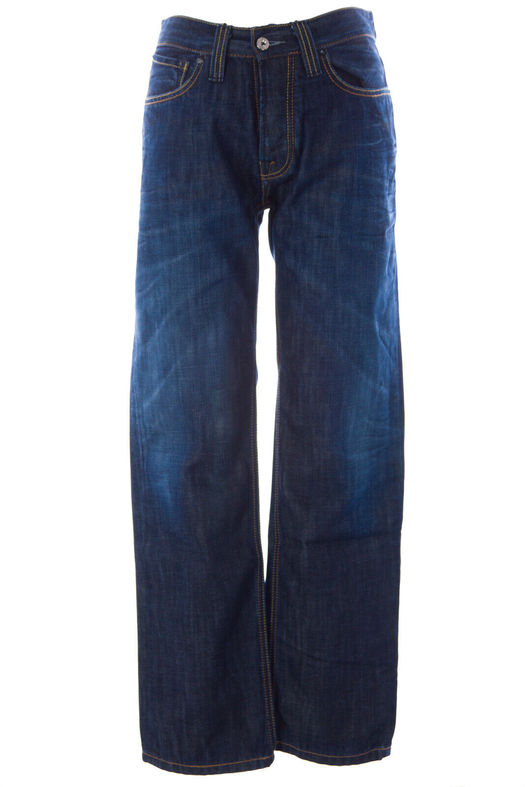 blueE BLOOD Men's Form CTI Dark Wash Button Fly Jeans MDGS0763 Sz 30x32  NWT