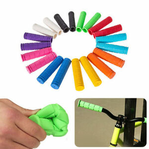 Bike Handle Bar Rubber End Grip For BMX MTB Cycle Road Mountain Bicycle Scooter