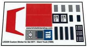Transparent-Custom-Sticker-for-Lego-Model-Team-set-5571-Giant-Truck-1996