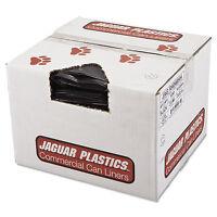Jaguar Plastics Repro Low-density Can Liners 2 Mil 40 X 46 Black 100/carton on sale