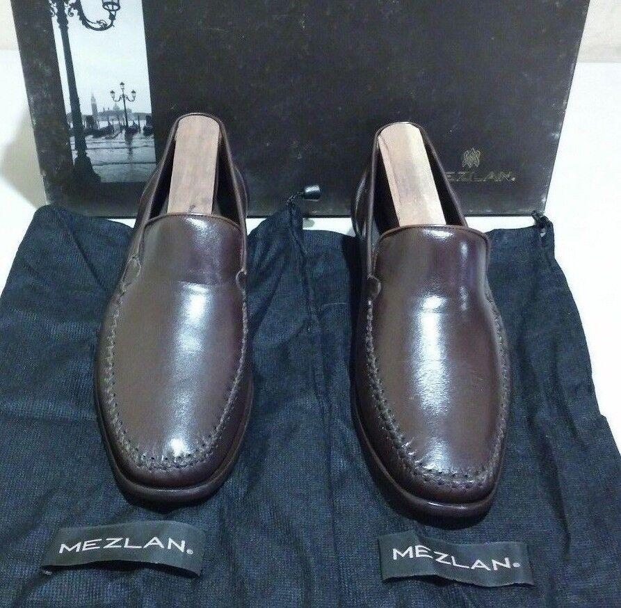 Scarpe casual da uomo  New Mezlan Agnello 5.5 M dark brown (2264)