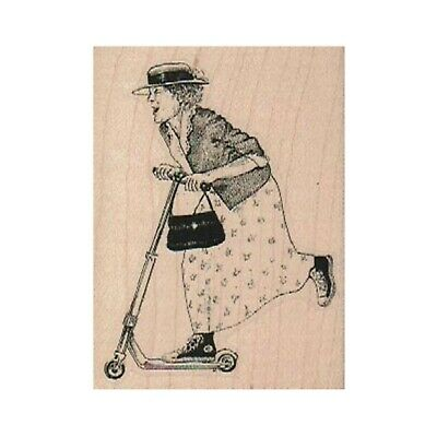 Party Lady Stamp Celebrate Stamp Lady Stamp Lady on Rocket RUBBER STAMP Rocket Stamp Lady Funny Stamp Woman Stamp Retro Lady Stamp