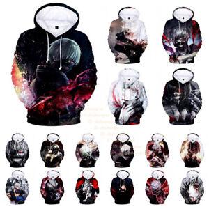 Women-039-s-Men-039-s-Tokyo-Ghoul-3D-Print-Anime-Hoodies-Sweatshirt-Pullover-Hoodie