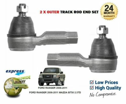 Für Ford Ranger 2006-2011 Mazda Bt50 2.5td Tdci Neu 2x Spurstangenkopf Außen