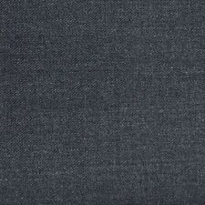 Holland and Sherry Medium Grey Plain Twill All Wool Suiting - 3.50 Mtrs
