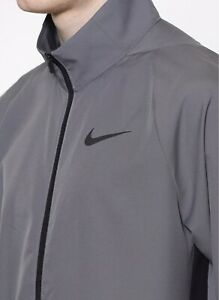 Subjetivo lazo Analista  Men's Nike Dry Woven Training Jacket Full Zip Medium 928010-036 | eBay