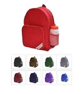 33dd04049faf Kids INFANT Backpack Rucksack Kids Plain School Sports Bag Pack of 2 ...