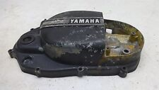 1974 Yamaha RD350 RD 350 YM255B. Engine clutch cover -b