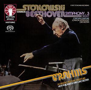 STOKOWSKI BEETHOVEN • Symphony No. 3 Coriolan Overture SACD Hybrid Multi-Channel